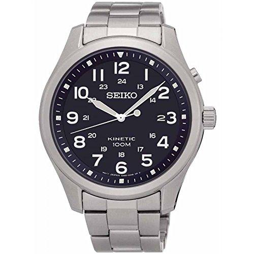 Seiko Kinetic Gents Bracelet Watch