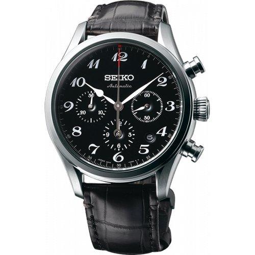 SEIKO Presage SRQ021J1 Silber Leder Man Limited Edition
