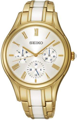 Seiko Quartz fuer Frauen Armbanduhr Multifunktion Quartz SKY718P1