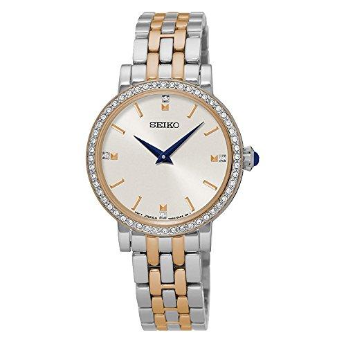 Seiko Quartz Ladies Two Tone Bracelet Watch