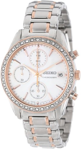Seiko Uhr sndy18 Silber Gold