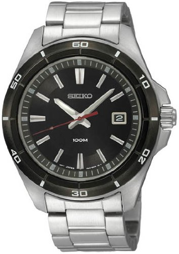 Seiko Neo Sports SGEE91P1 Uhr Stahl Herren Neue Garantie 2 Jahre