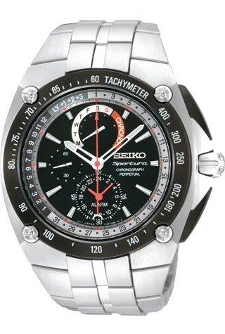 Seiko Sportura SPC047 Chronograph mit ewigem Kalender