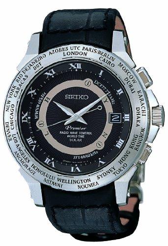 Seiko Herren Armbanduhr Worldtimer SPP001J2