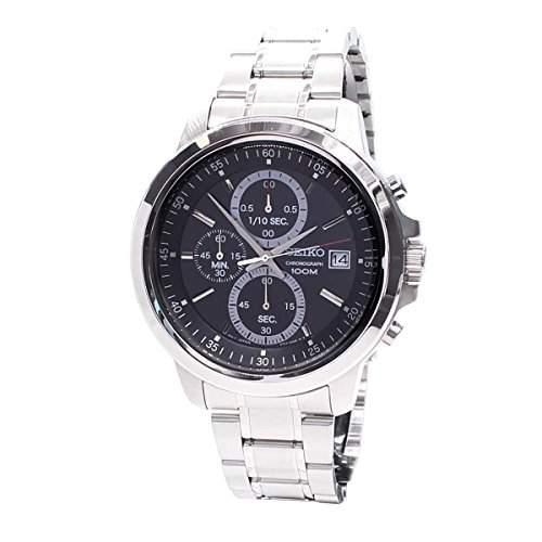 SEIKO Uhren Neo Sport Herren Chronograph Silber - sks445p1