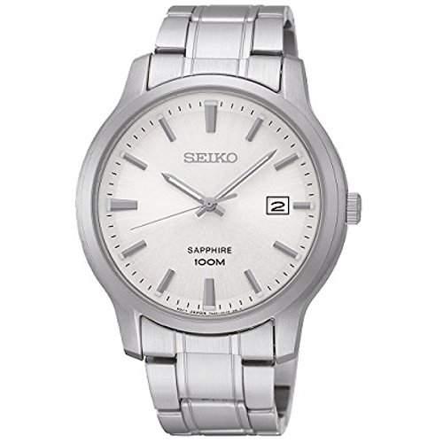 Uhr Seiko Neo Classic Sgeh39p1 Herren Silber
