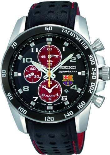 SEIKO Sportura FC Barcelona Alarm Chronograph SNAE75P1