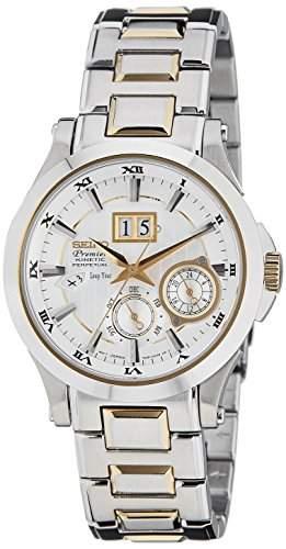 Seiko SNP004P1 Premier Kinetic Perpetual Watch