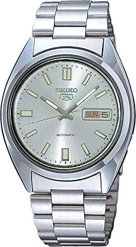 Seiko Herren-Armbanduhr XL Analog Automatik Edelstahl SNXS73K