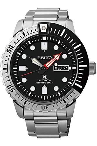 Seiko-srp587K1-5Sports-Zeigt Herren-Automatische Analog-Zifferblatt schwarz Armband Stahl Grau