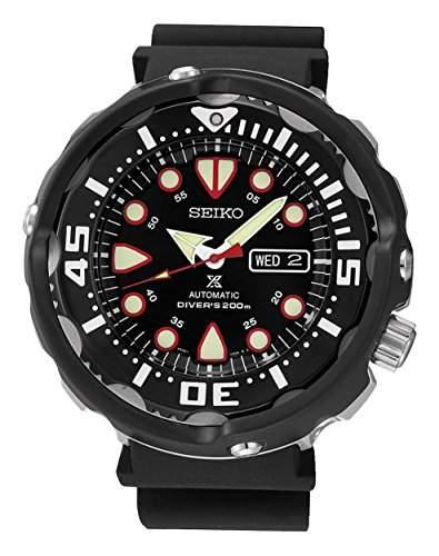 Seiko Herren-Armbanduhr Analog Automatik Silikon SRP655K1