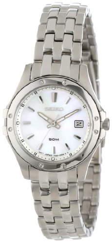 Stainless Steel Le Grand Sport Mother Of Pearl Dial