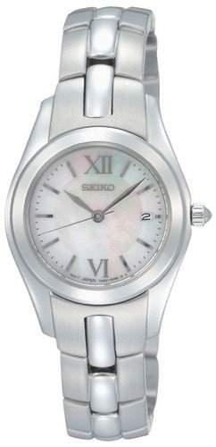 Seiko Damen-Armbanduhr XS Analog Edelstahl SXDA71P1