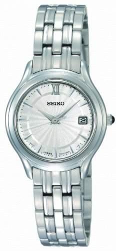 Seiko Damen-Armbanduhr XS Analog Edelstahl SXDB41P1