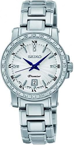 Uhr Seiko Premier Sxdg57p1 Damen Weiss