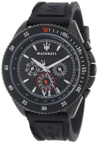 Maserati Herren-Armbanduhr XL Chronograph Quarz Plastik R8851101001