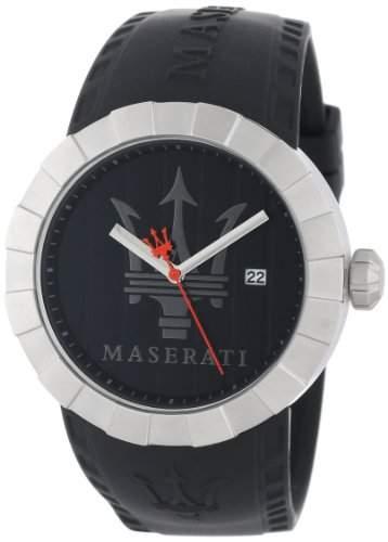 Maserati Herren-Armbanduhr XL Analog Quarz Plastik R8851103002