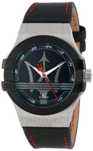 Maserati Herren-Armbanduhr XL Analog Quarz Plastik R8851108001