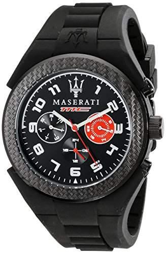 Maserati Herren-Armbanduhr XL Chronograph Quarz Silikon R8851115006
