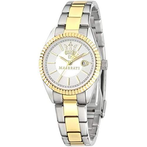 Maserati Damen-Armbanduhr XS Analog Quarz Edelstahl R8853100505
