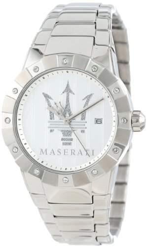 Maserati Damen-Armbanduhr Analog Quarz Edelstahl R8853103501