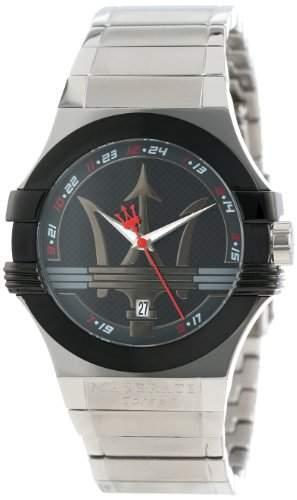 Maserati Herren-Armbanduhr XL Analog Quarz Edelstahl R8853108001
