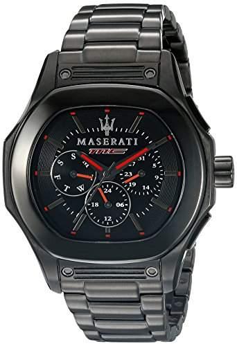 Maserati Herren-Armbanduhr XL Chronograph Quarz Edelstahl R8853116001