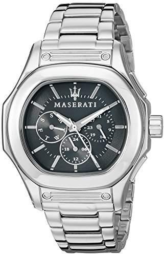 Maserati Herren-Armbanduhr XL Chronograph Quarz Edelstahl R8853116002