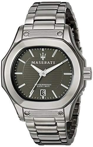 Maserati Herren-Armbanduhr XL Analog Quarz Edelstahl R8853116003