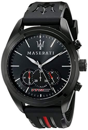 Maserati Herren-Armbanduhr XL Chronograph Quarz Plastik R8871612004
