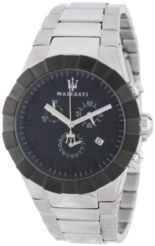 Maserati Herren-Armbanduhr XL Chronograph Quarz Edelstahl R8873603002