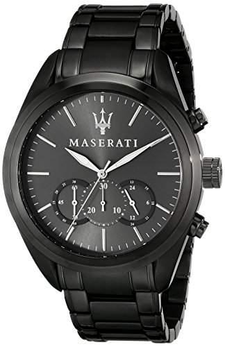 Maserati Herren-Armbanduhr XL Chronograph Quarz Edelstahl R8873612002