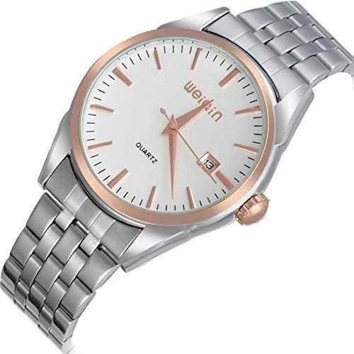 Herren Armbanduhr 2015 - Klassisch Formell Business Stahlgehaeuse