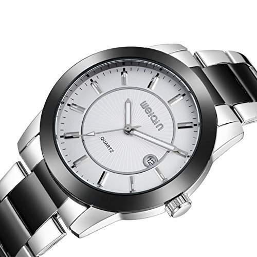 Stilvoll - Herren Luxurioes Stahlgehaeuse Uhr