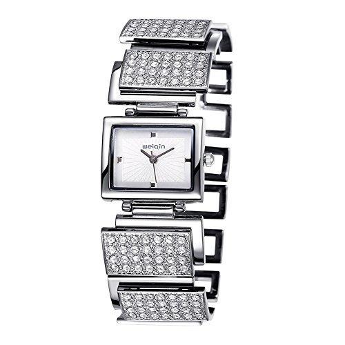 weiqin luxus frauen gucken mit rechteck und armband 270304
