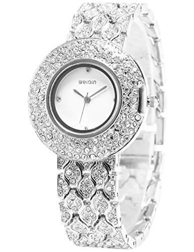 WEIQIN Fashion Trend Damenuhr Armreif Quarzuhr Armbanduhr WQI006