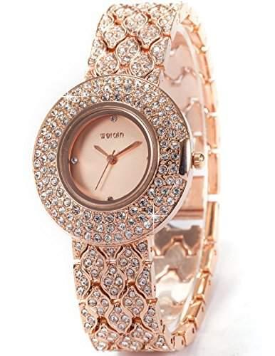 WEIQIN Fashion Trend Damenuhr Armreif Quarzuhr Armbanduhr WQI007