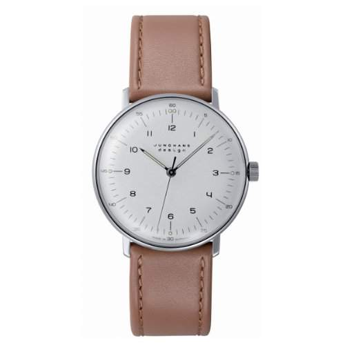 Junghans Herren-Armbanduhr max bill Handaufzug 027370100
