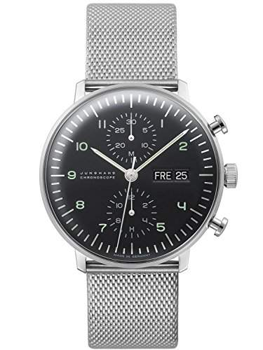Junghans max bill Chronoscope Herrenuhr 027450044