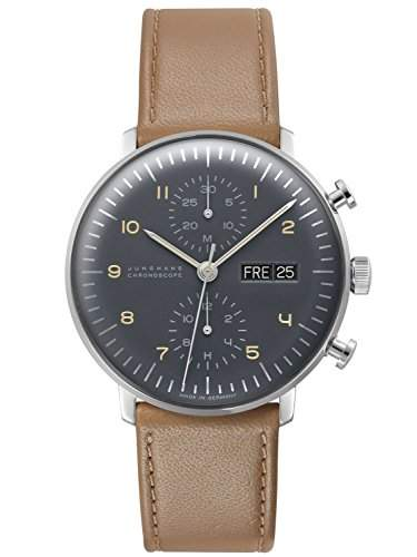 Junghans max bill Chronoscope Herrenuhr 027450100