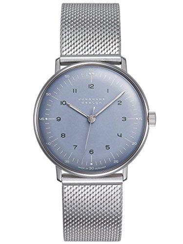 Junghans max bill Handaufzug Armbanduhr 027 3600 44