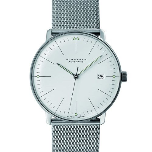 Junghans Uhr Max Bill Automatic Date Milanaise