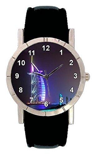 Dubai Hotel Burij Al Arab Motiv mit Lederarmband