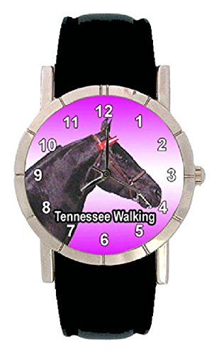 Tennessee Walking Pferde Motiv mit Lederarmband