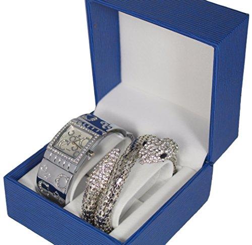 Damen Uhr Kollektion Dolce Vita inkl zweifachem Schlangen Armband