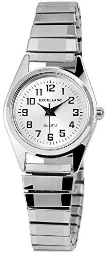 Zugband Silber Zugbanduhr Analog Metall Armbanduhr Zugarmbanduhr 60412119745450