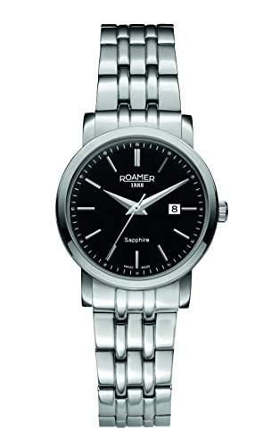Roamer of Switzerland Damen-Armbanduhr Classic Line Analog Quarz Edelstahl 709844 41 55 70