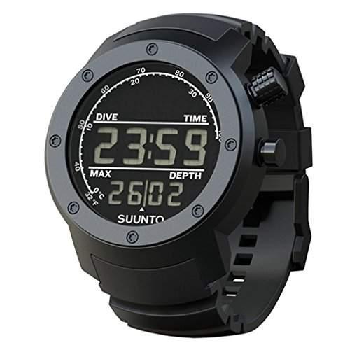 Suunto Herren-Armbanduhr Digital Quarz Silikon SS014528000