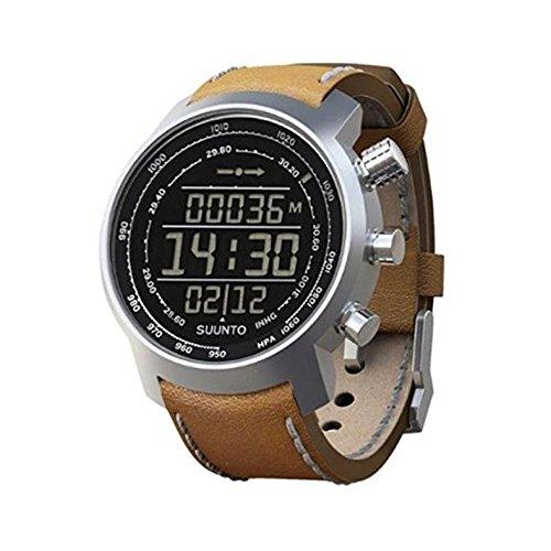 Suunto Multifunktionsuhr Armbanduhr Elementum Terra brown leather Hoehenmesser Kompass Barometer braun 146 0