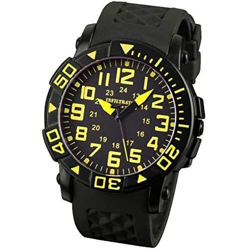 INFANTRY Uhren Herren Armbanduhr Quarz-Analog Militaerisch Armee Uhr Fashion Schuluhr